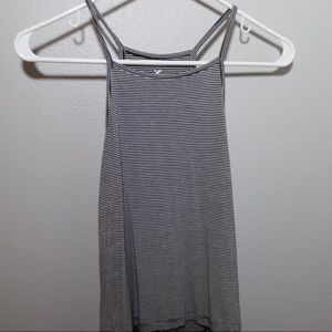American Eagle Outfitters striped halter tank